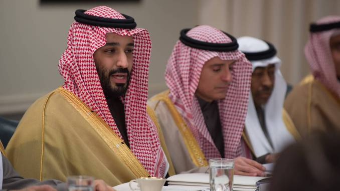 Mohammad bin Salman - photo credit James N. Mattis (flickr)