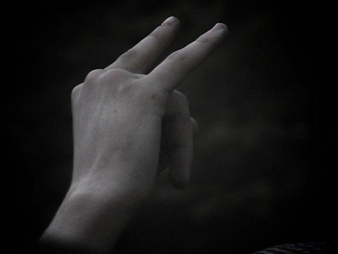 Opeth fan hand / / Photo by: Andreas Eldh