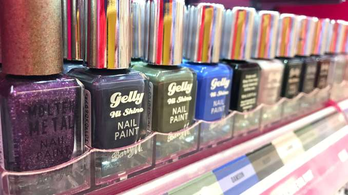 Barry M nail varnishes show that ethical beauty doesn't need to be boring (Bronwyn Molony)