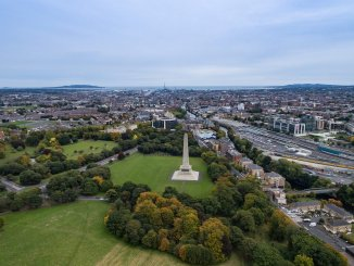 Aerial view of The Phoenix Park by Dronepicr