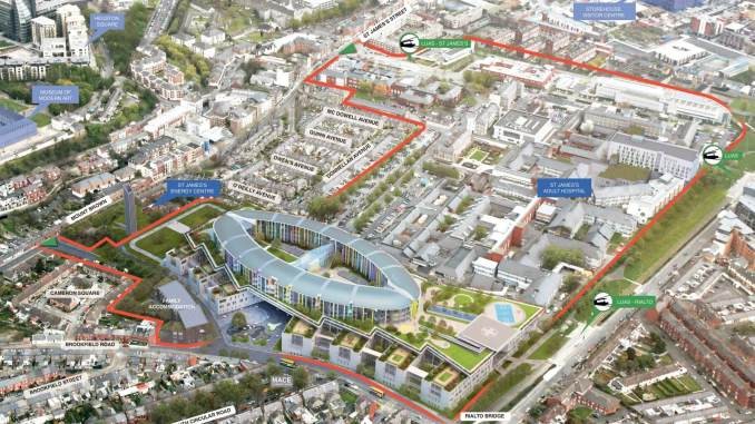 NCH_Map Overview by The New Children's hospital