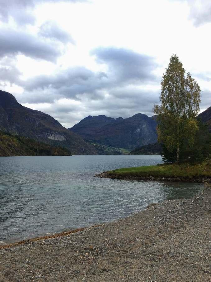 From the road to Geiranger, Strynsvatnet. Image credit: Stine Ødegård