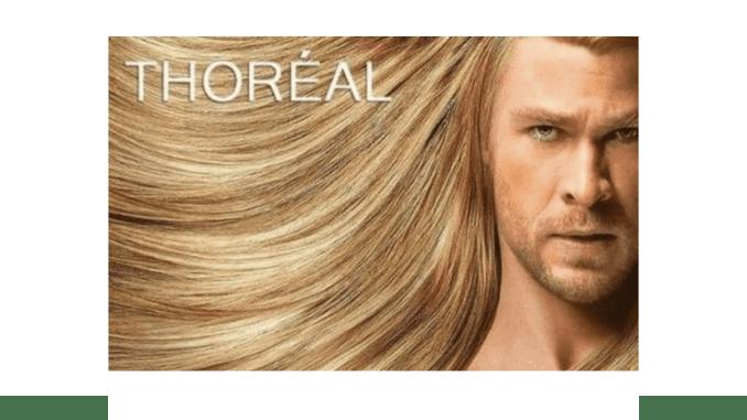 Meme L'Oréal and Thor