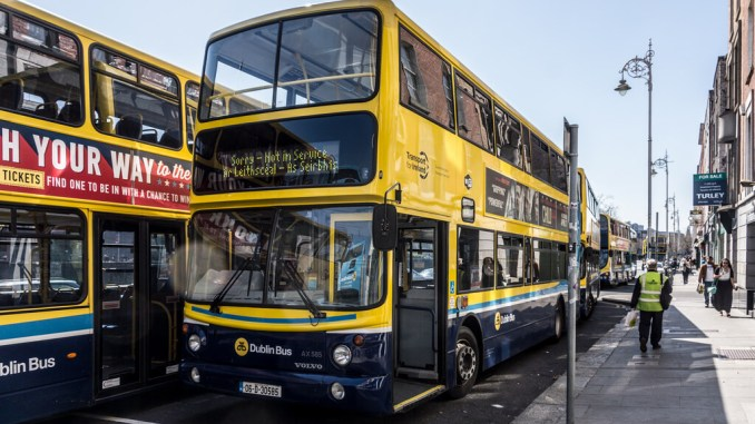 Dublin Bus planscould disrupt health services. Credit: William Murphy (Flikr)