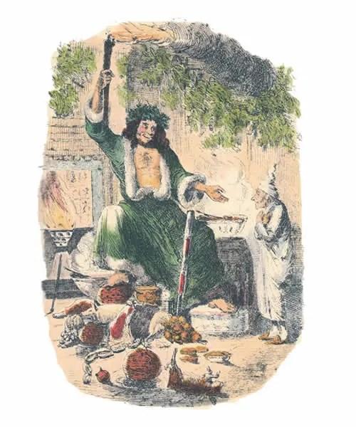 Illustrations of A Christmas Carol.