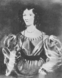 Portrait of Elizabeth Dickens.