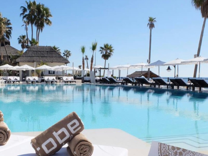 Beach clubs in Marbella