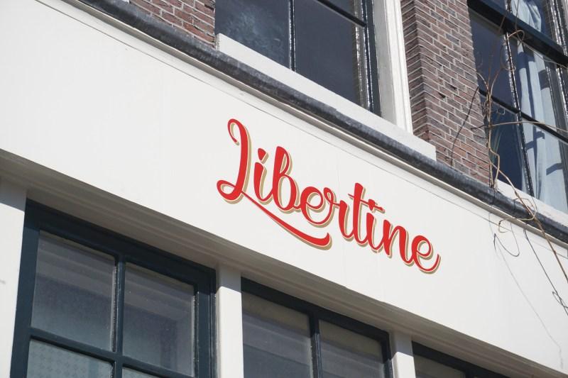 Libertine Petit Café aan de Noordermarkt