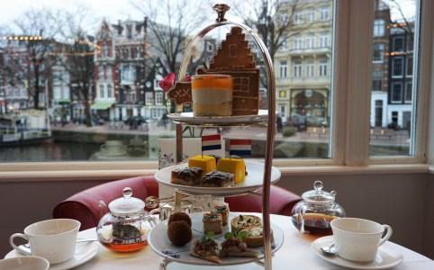 So Dutch Afternoon Tea van hotel De L'Europe Amsterdam