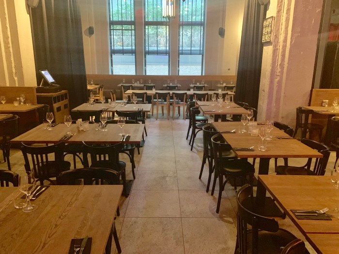 Artistiek dineren bij De Bajes in Amsterdam
