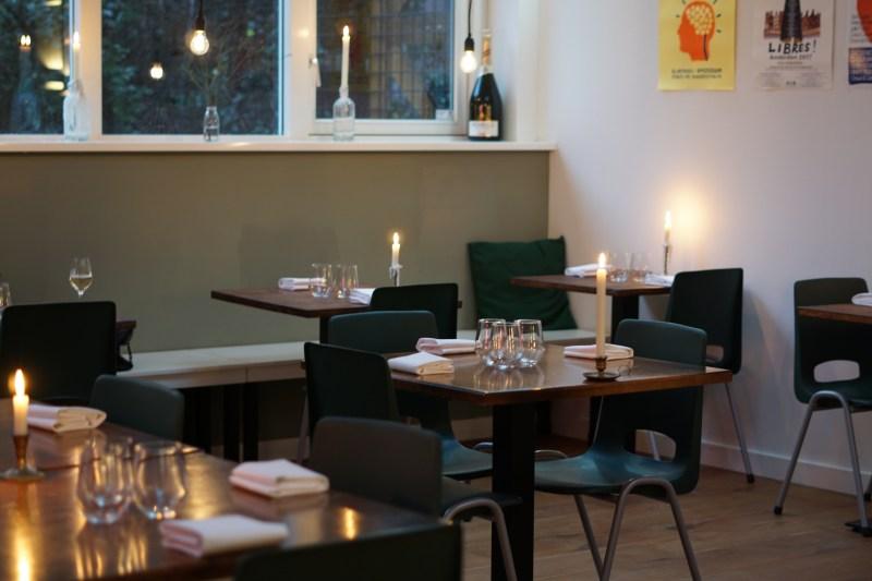 Restaurant Alba Amsterdam aan de Wibautstraat