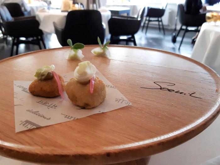 Dineren bij spicy chef Soenil Bahadoer van De Lindehof in Nuenen