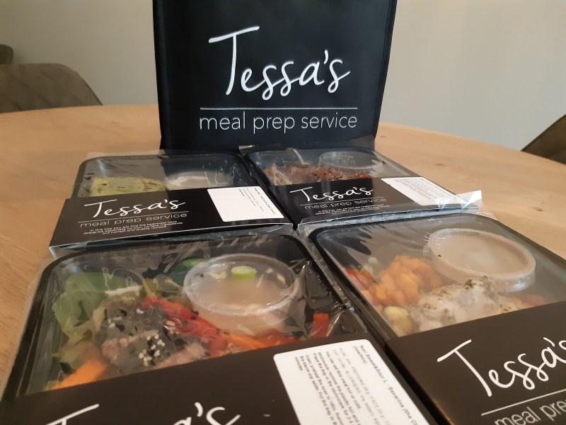 Tessa's Mealprep Service. Gezonde maaltijden voor thuis