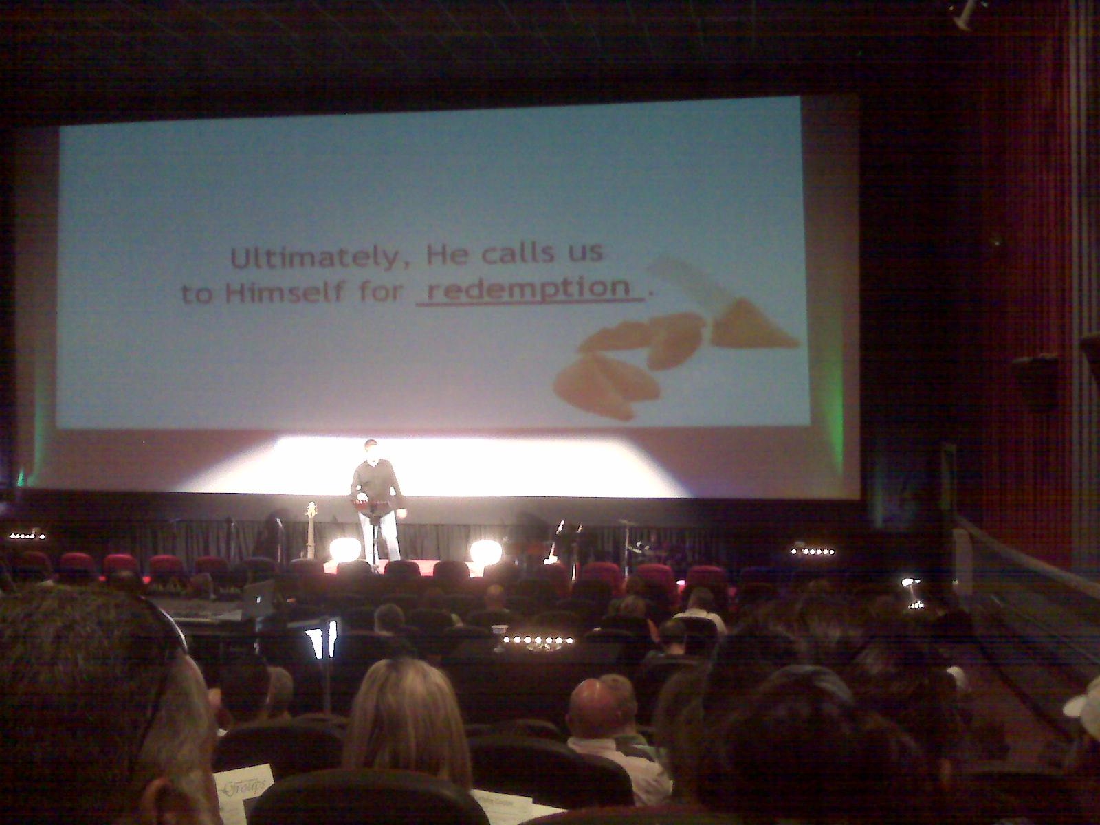 30 speaking on faith and destiny.