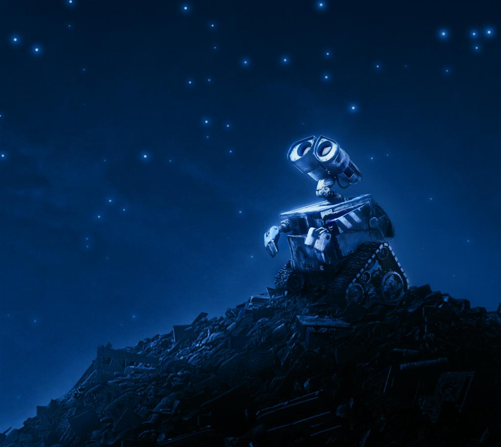 WALL-E has been alone on earth for 700 years, and he's lonely.