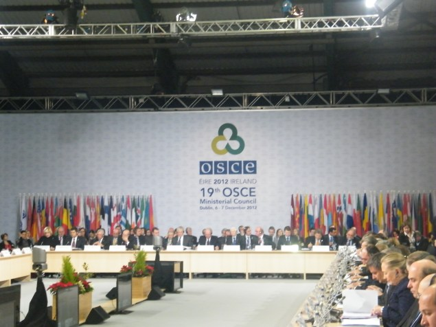 OSCE 2012 meeting.Photo:Martha Gberevbie