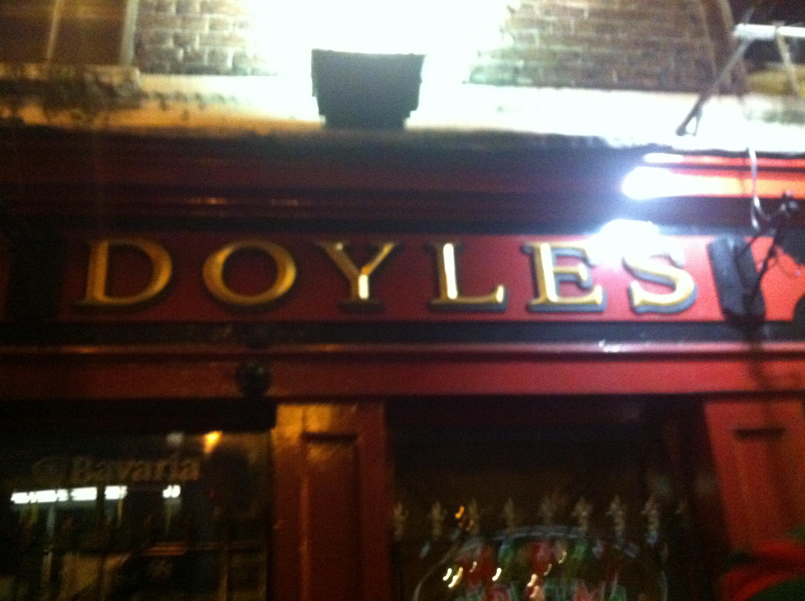 Doyles pub on college st.