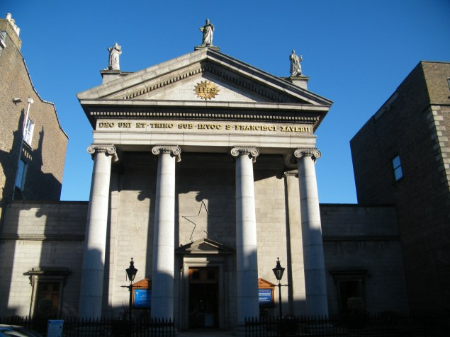 The star of David in it's pride of place on Gardiner Street Church