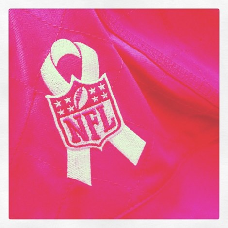 The NFL is just one of the many major organisations involved in cancer awareness month. Image by: aliciacandraw