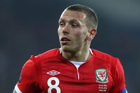 Bellamy in one of his last appearances for Wales [credit: mirror.co.uk]