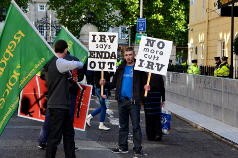 Member of the IRV has his say