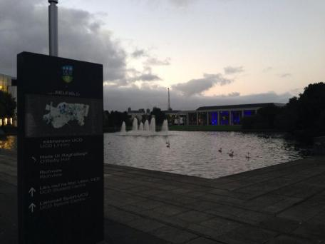 The campus at UCD.