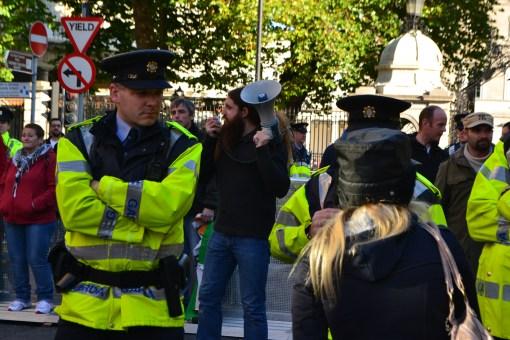 Unimpressive protest