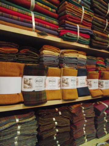 Tweed collection from Magees tweed