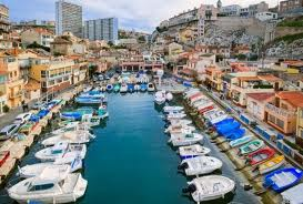 The beautiful port of Marseille