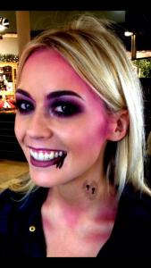 Sexy Zombie look by Rachel
