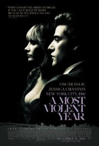 Albert Brooks, Alessandro Nivola, David Oyelowo, Oscar Isaac and Jessica Chastain in A Most Violent Year. (IMBD)