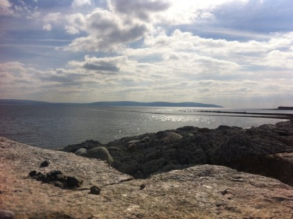 Salthill, Beach, Galway. Photo by Rachael Hussey