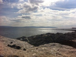 Salthill Beach, Galway. Photo by Rachael Hussey