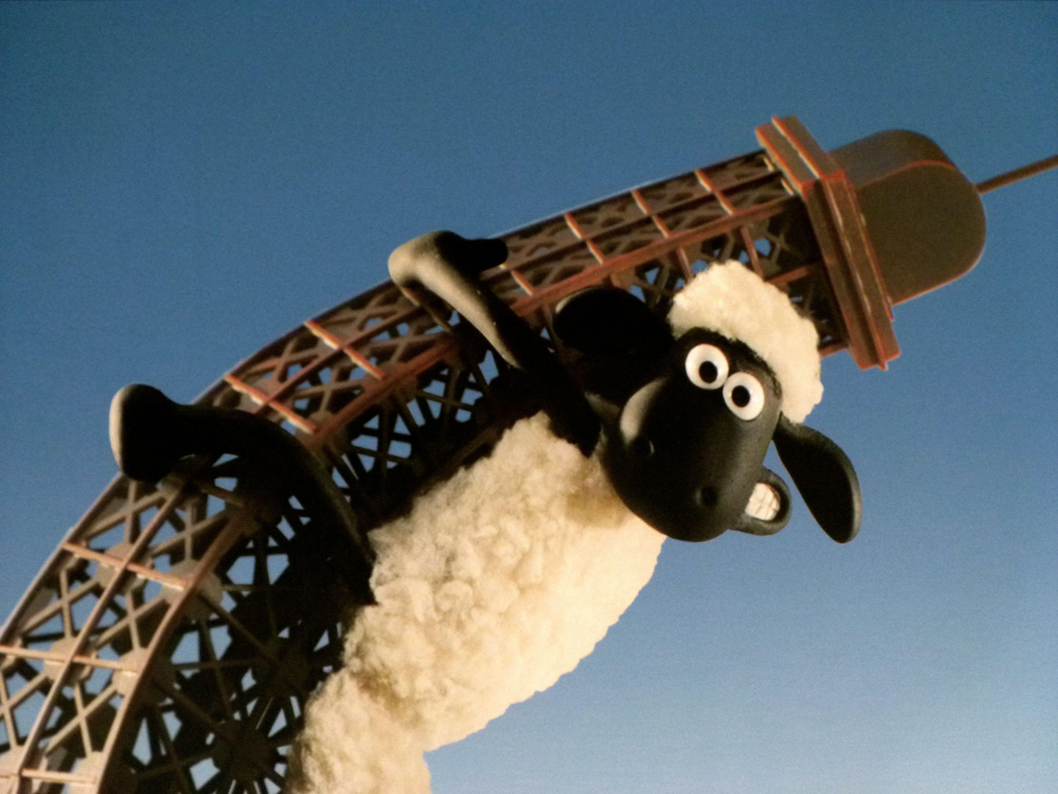 Shaun The Sheep – ( For Paris Exhibition )