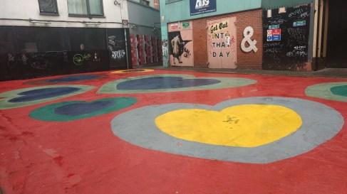 Crampton Court urban carpet, image by Hannah Lemass