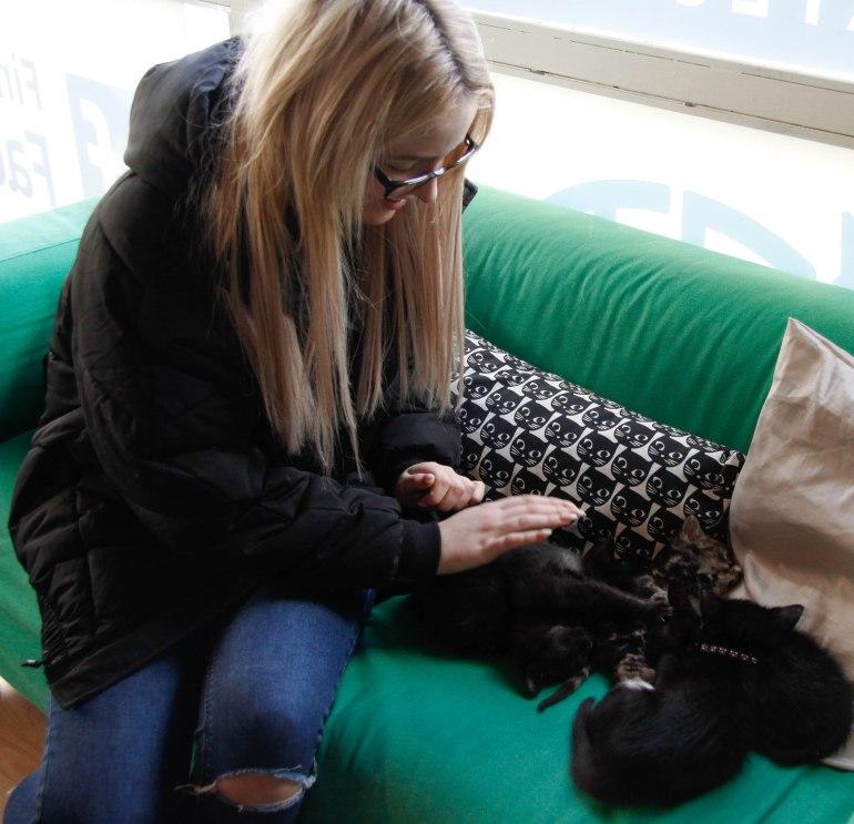 Cara + cats