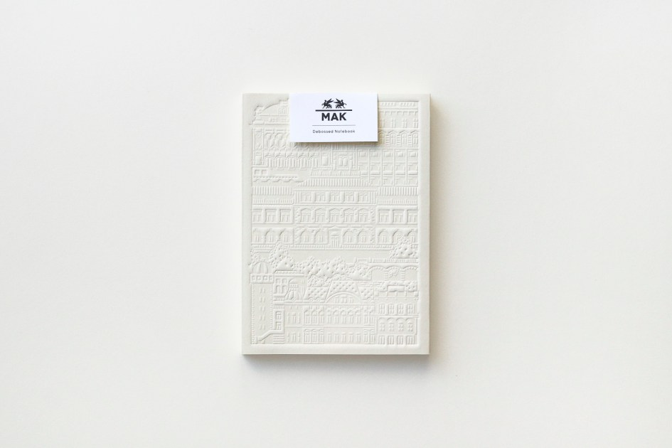 MAK Design Shop Notebook by The City Works