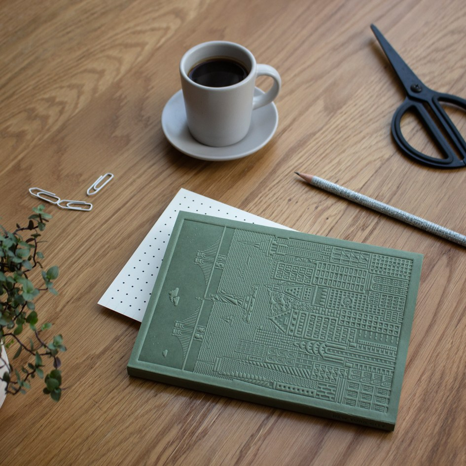The New York Notebook Lifestyle Shot by The City Works
