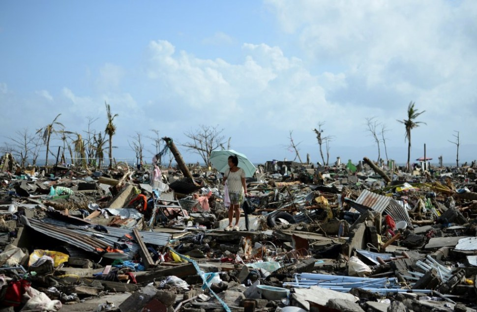 Tacloban City, November 11 (Photo: Noel Celis/AFP - Getty)