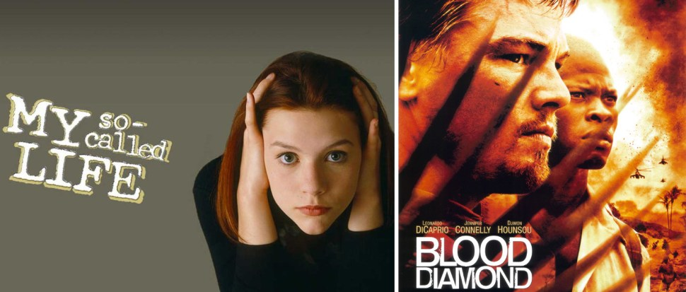 "The TV show ""My So-Called Life"" (Claire Danes) and the film ""Blood Diamond"" (Leonardo DiCaprio) are two projects Herskovitz has produced."