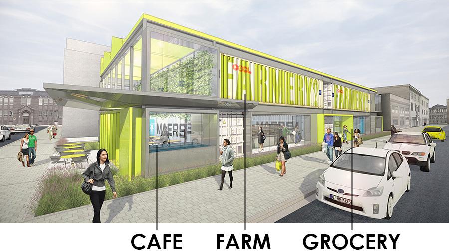 The Farmery urban market concept. (Courtesy: Farmery)