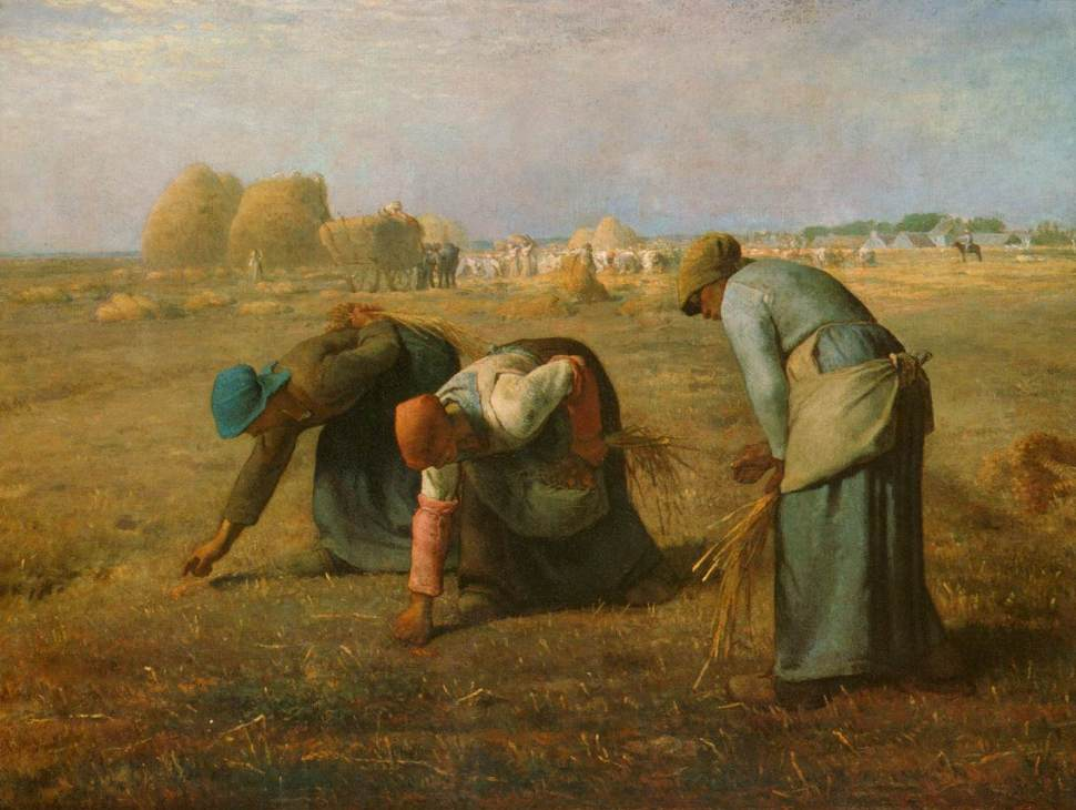 Jean Francois Millet, The Gleaners (1857)