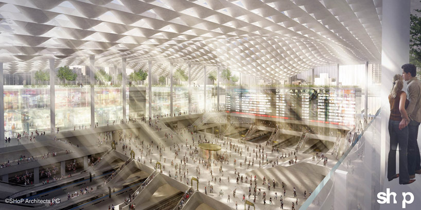 Design study for a new Penn Station (Courtesy SHoP Architects)