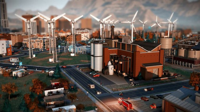 sim city windmills