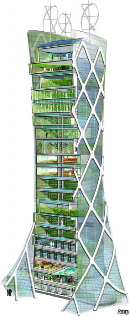 vertical farm the economist