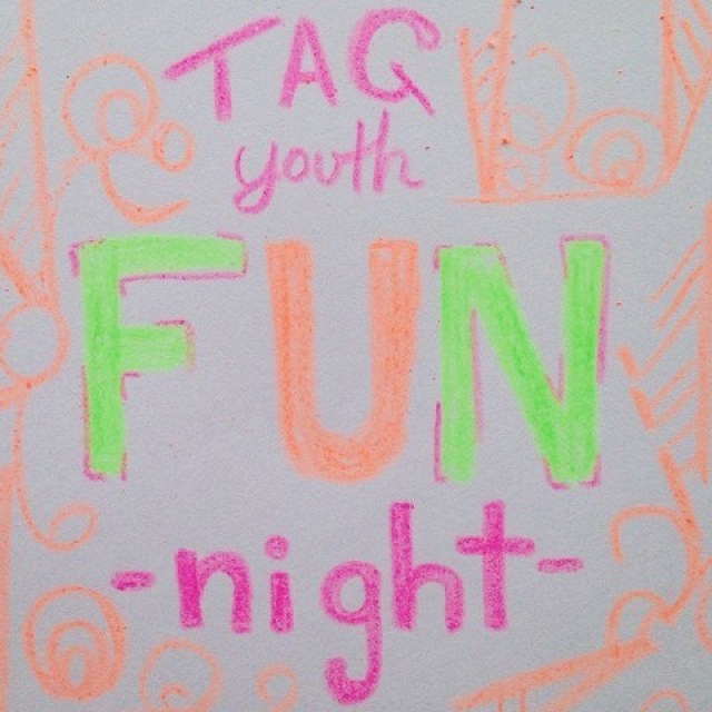 Youth Pastor Church Nite: We Can't Wait For TAG Youth Ministry's Fun Night! This