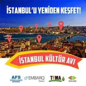 İstanbul Kültür Avı