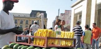 Bogota Mango Vendor