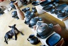 Chamba pottery in Colombia's Magdalena region