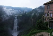 With the planned renovation of the haunted hotel Refugio, the Tequendama Falls looks for more visitors.